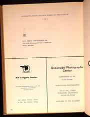 Page 226, 1964 Edition, Army and Navy Academy - Adjutant Yearbook (Carlsbad, CA) online yearbook collection