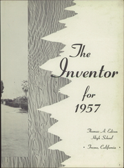Page 7, 1957 Edition, Edison High School - Inventor Yearbook (Fresno, CA) online yearbook collection