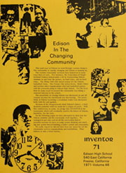 Page 5, 1971 Edition, Edison High School - Inventor Yearbook (Fresno, CA) online yearbook collection