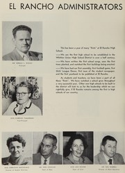 Page 10, 1953 Edition, El Rancho High School - Por El Ano Yearbook (Pico Rivera, CA) online yearbook collection