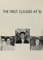 Page 16, 1953 Edition, El Rancho High School - Por El Ano Yearbook (Pico Rivera, CA) online yearbook collection