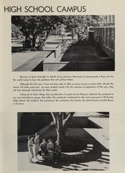 Page 7, 1953 Edition, El Rancho High School - Por El Ano Yearbook (Pico Rivera, CA) online yearbook collection