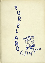 1955 Edition, El Rancho High School - Por El Ano Yearbook (Pico Rivera, CA)