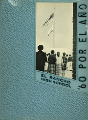 Page 1, 1960 Edition, El Rancho High School - Por El Ano Yearbook (Pico Rivera, CA) online yearbook collection