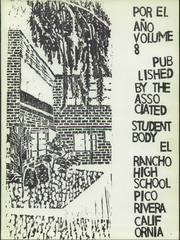 Page 5, 1960 Edition, El Rancho High School - Por El Ano Yearbook (Pico Rivera, CA) online yearbook collection
