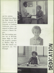 Page 9, 1960 Edition, El Rancho High School - Por El Ano Yearbook (Pico Rivera, CA) online yearbook collection
