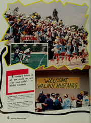 Page 10, 1987 Edition, Walnut High School - Cayuse Yearbook (Walnut, CA) online yearbook collection