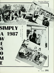 Page 295, 1987 Edition, Walnut High School - Cayuse Yearbook (Walnut, CA) online yearbook collection