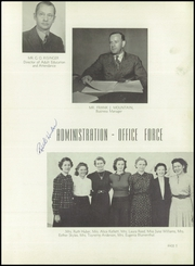 Page 9, 1940 Edition, El Monte High School - Trails End Yearbook (El Monte, CA) online yearbook collection