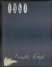 1957 Edition, El Monte High School - Trails End Yearbook (El Monte, CA)
