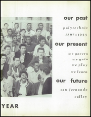Page 9, 1955 Edition, John H Francis Polytechnic High School - Student Yearbook (Sun Valley, CA) online yearbook collection