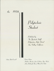 Page 5, 1958 Edition, John H Francis Polytechnic High School - Student Yearbook (Sun Valley, CA) online yearbook collection