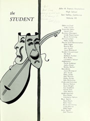 Page 5, 1964 Edition, John H Francis Polytechnic High School - Student Yearbook (Sun Valley, CA) online yearbook collection