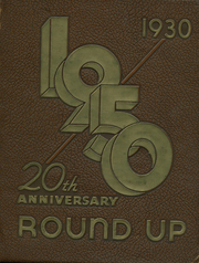 Page 1, 1930 Edition, Austin High School - Round Up Yearbook (El Paso, TX) online yearbook collection