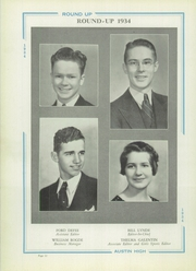 Page 16, 1934 Edition, Austin High School - Round Up Yearbook (El Paso, TX) online yearbook collection