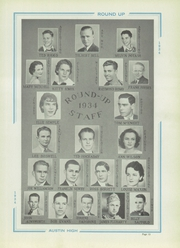 Page 17, 1934 Edition, Austin High School - Round Up Yearbook (El Paso, TX) online yearbook collection