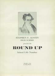 Page 5, 1934 Edition, Austin High School - Round Up Yearbook (El Paso, TX) online yearbook collection