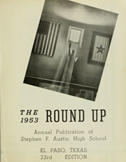 Page 5, 1953 Edition, Austin High School - Round Up Yearbook (El Paso, TX) online yearbook collection