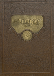 Page 1, 1930 Edition, Borger High School - Borgan Yearbook (Borger, TX) online yearbook collection