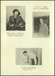Page 14, 1951 Edition, Borger High School - Borgan Yearbook (Borger, TX) online yearbook collection