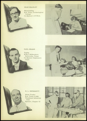 Page 14, 1955 Edition, Borger High School - Borgan Yearbook (Borger, TX) online yearbook collection