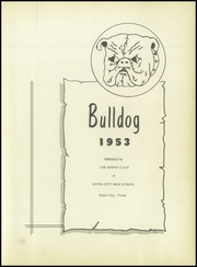 Page 7, 1953 Edition, Royse City High School - Bulldog Yearbook (Royse City, TX) online yearbook collection