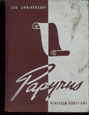 1941 Edition, Pendleton Heights High School - Papyrus Yearbook (Pendleton, IN)
