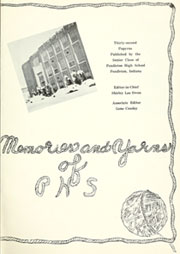 Page 5, 1948 Edition, Pendleton Heights High School - Papyrus Yearbook (Pendleton, IN) online yearbook collection
