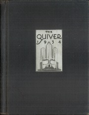 1934 Edition, Harding High School - Quiver Yearbook (Marion, OH)