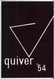 1954 Edition, Harding High School - Quiver Yearbook (Marion, OH)