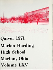 Page 5, 1971 Edition, Harding High School - Quiver Yearbook (Marion, OH) online yearbook collection