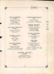Page 11, 1925 Edition, Wauseon High School - Chief Yearbook (Wauseon, OH) online yearbook collection