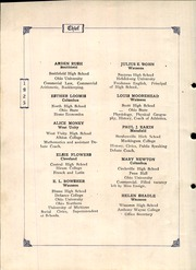 Page 12, 1925 Edition, Wauseon High School - Chief Yearbook (Wauseon, OH) online yearbook collection