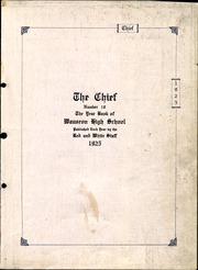 Page 3, 1925 Edition, Wauseon High School - Chief Yearbook (Wauseon, OH) online yearbook collection