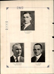Page 8, 1925 Edition, Wauseon High School - Chief Yearbook (Wauseon, OH) online yearbook collection