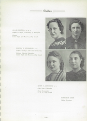 Page 17, 1940 Edition, Wauseon High School - Chief Yearbook (Wauseon, OH) online yearbook collection