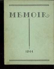 Page 1, 1944 Edition, Middlebranch High School - Memoir Yearbook (Middlebranch, OH) online yearbook collection