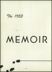 Page 6, 1953 Edition, Middlebranch High School - Memoir Yearbook (Middlebranch, OH) online yearbook collection
