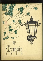1954 Edition, Middlebranch High School - Memoir Yearbook (Middlebranch, OH)