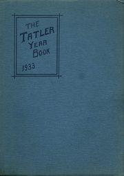 Mount Healthy High School - Zem Zem Yearbook (Cincinnati, OH) online yearbook collection, 1933 Edition, Page 1