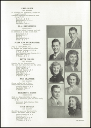 Page 23, 1948 Edition, Mount Healthy High School - Zem Zem Yearbook (Cincinnati, OH) online yearbook collection
