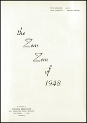 Page 5, 1948 Edition, Mount Healthy High School - Zem Zem Yearbook (Cincinnati, OH) online yearbook collection