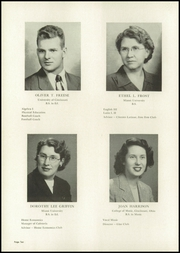 Page 14, 1949 Edition, Mount Healthy High School - Zem Zem Yearbook (Cincinnati, OH) online yearbook collection