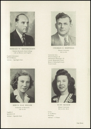 Page 15, 1949 Edition, Mount Healthy High School - Zem Zem Yearbook (Cincinnati, OH) online yearbook collection