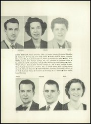 Page 16, 1952 Edition, Mount Healthy High School - Zem Zem Yearbook (Cincinnati, OH) online yearbook collection