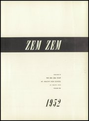Page 5, 1952 Edition, Mount Healthy High School - Zem Zem Yearbook (Cincinnati, OH) online yearbook collection
