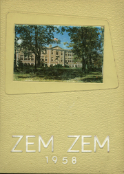 1958 Edition, Mount Healthy High School - Zem Zem Yearbook (Cincinnati, OH)