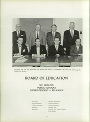 Page 12, 1960 Edition, Mount Healthy High School - Zem Zem Yearbook (Cincinnati, OH) online yearbook collection