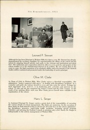 Page 13, 1935 Edition, Walnut Hills High School - Remembrancer Yearbook (Cincinnati, OH) online yearbook collection