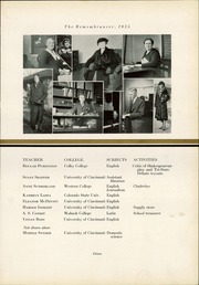 Page 15, 1935 Edition, Walnut Hills High School - Remembrancer Yearbook (Cincinnati, OH) online yearbook collection